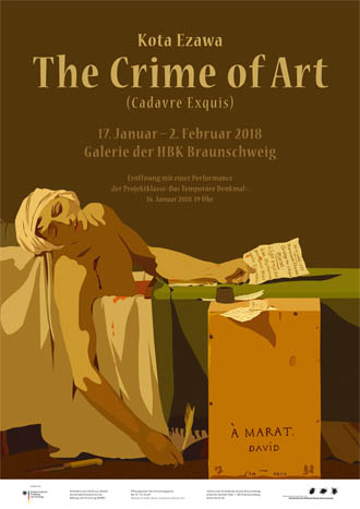 Plakat The Crime of Art, Kota Ezawa